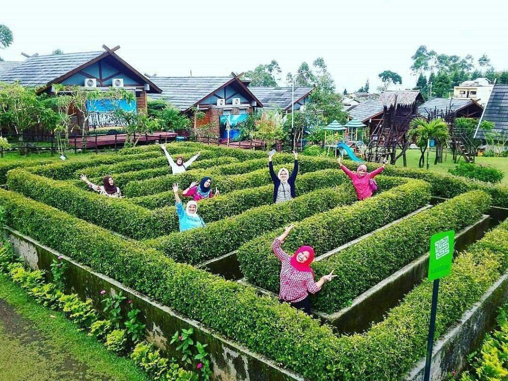 tempat wisata bandung Ciwidey Valley Resort