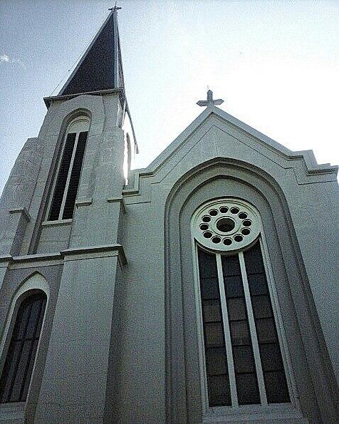 tempat wisata dekat stasiun bandung Katedral Santo Petrus
