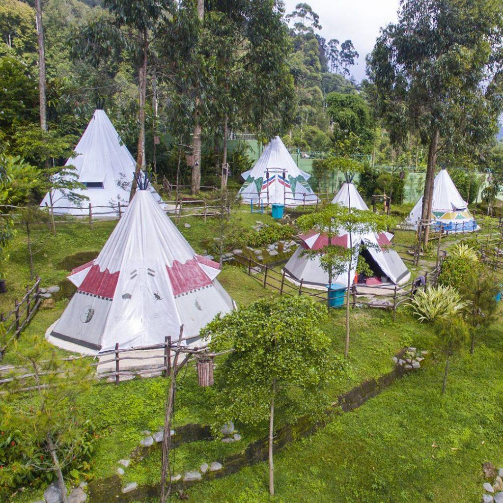 wisata camping di bandung ciwidey valley