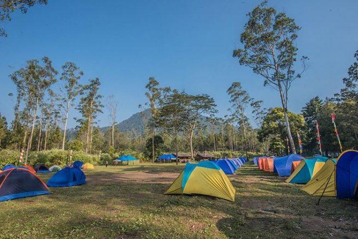 wisata camping di bandung ranca upas bandung
