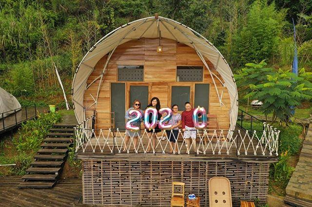 tempat wisata bandung Glamping Lakeside Ciwidey