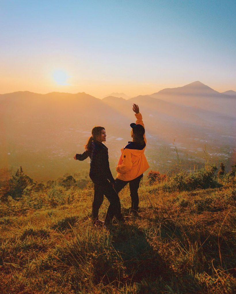 wisata alam lembang gunung putri