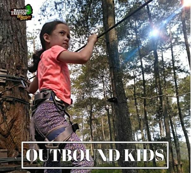 bandung treetop adventure park kopeng
